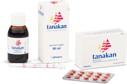 Tanakan - Přípravek proti poruchám paměti